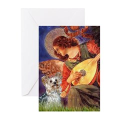 Angel 3 - Yorkshire Terrier Greeting Cards (Pk of