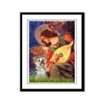 Angel 3 - Yorkshire Terrier Framed Panel Print