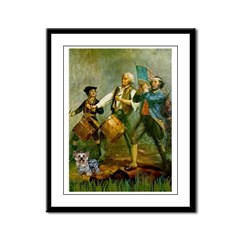 Spirit 76 / Yorkie Framed Panel Print