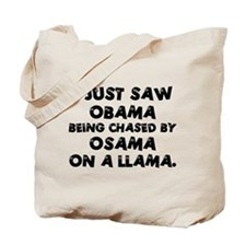Anti-Obama & Osama Tote Bag