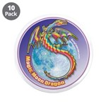 "Magic Moon Dragon 3.5"" Button (10 pack)"