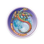 "Magic Moon Dragon 3.5"" Button (100 pack)"