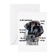 Mastiff(fluffy)FAQ Greeting Cards (Pk of 20)