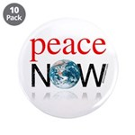 "Peace Now 3.5"" Button (10 pack)"