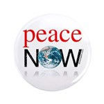 "Peace Now 3.5"" Button"
