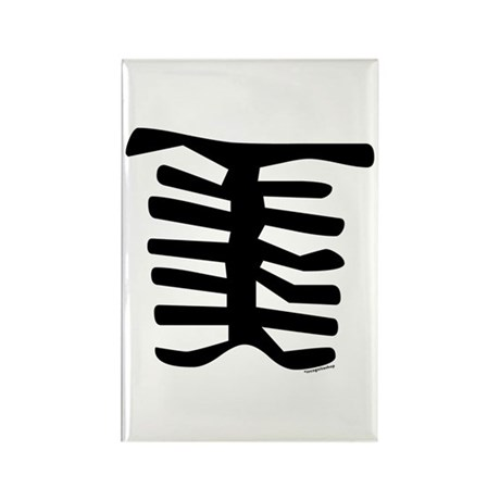Skeleton Rectangle Magnet (10 pack)
