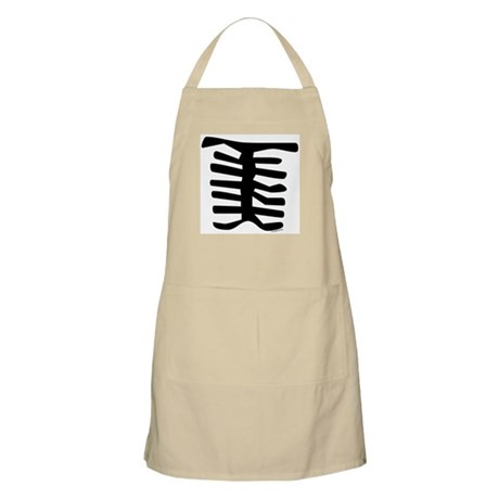 Skeleton BBQ Apron