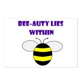 BEE-AUTY LIES WITHIN Postcards (Package of 8)