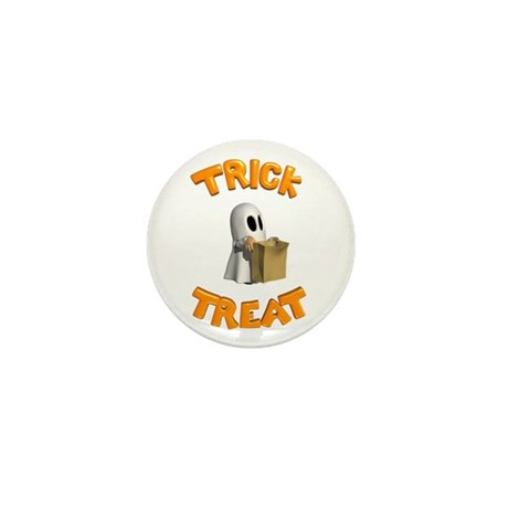 Trick or Treat Mini Button (10 pack)