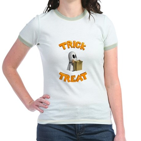 Trick or Treat Jr. Ringer T-Shirt