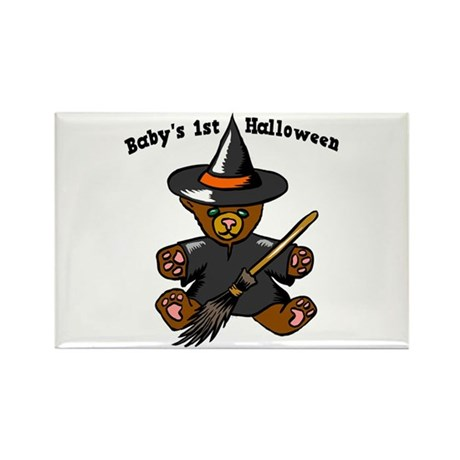 Baby's 1st Halloween Rectangle Magnet