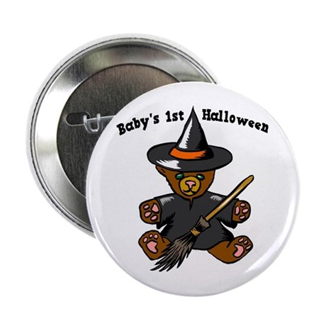 "Baby's 1st Halloween 2.25"" Button"