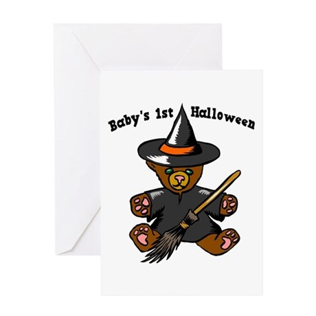 Baby's 1st Halloween Greeting Card
