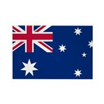 Australia Rectangle Magnet