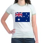 Australia Jr. Ringer T-Shirt