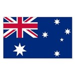 Australia Rectangle Sticker