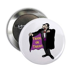 "Halloween Vampire 2.25"" Button"