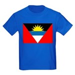 Antigua and Barbuda Kids Dark T-Shirt