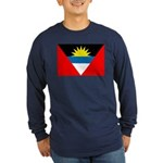 Antigua and Barbuda Long Sleeve Dark T-Shirt