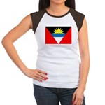 Antigua and Barbuda Women's Cap Sleeve T-Shirt