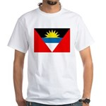 Antigua and Barbuda White T-Shirt