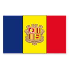 Andorra Rectangle Decal