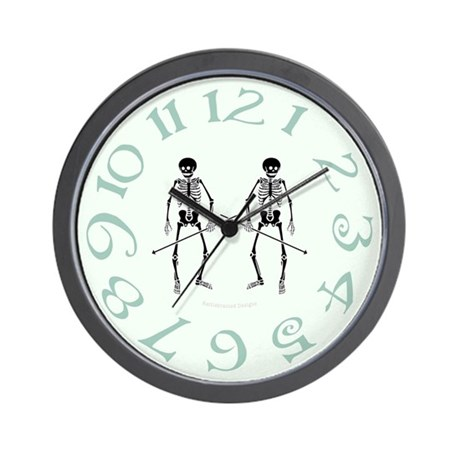Skeleton Warriors Wall Clock