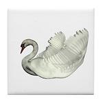 Mute Swan Tile Coaster
