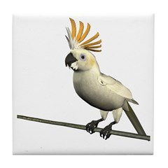 Cockatoo Tile Coaster