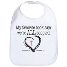 Cute Adoption Bib