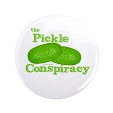 "Pickle Conspiracy 3.5"" Button (100 pack)"