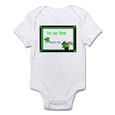 It's my first St. Patrick's Day Infant Bodysuit