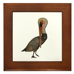 Pelican Framed Tile