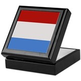 """Luxembourg Flag"" Keepsake Box"