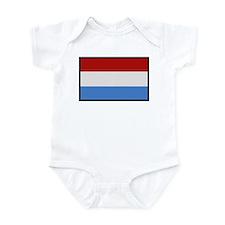 """Luxembourg Flag"" Infant Bodysuit"