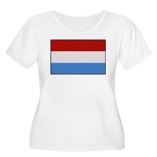 """Luxembourg Flag"" T-Shirt"