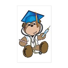Nurse Graduation Rectangle Decal