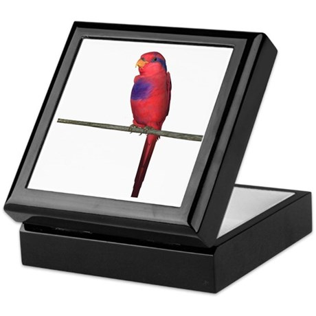 Red and Blue Lori Keepsake Box