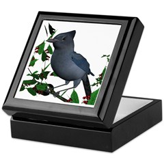 Stellars Jay Keepsake Box