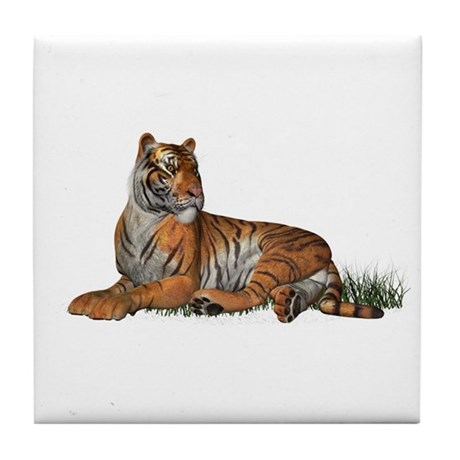 Tiger Tile Coaster