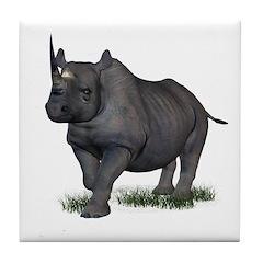 Rhinoceros Tile Coaster
