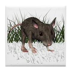 Mouse Tile Coaster
