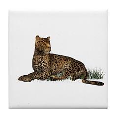 Leopard Tile Coaster