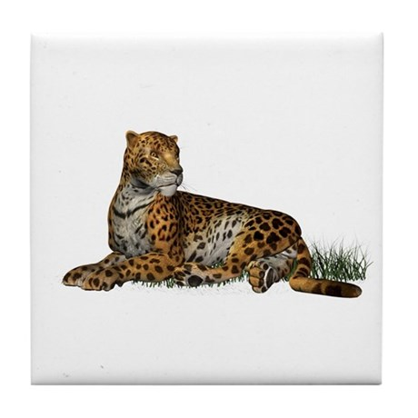 Jaguar Tile Coaster