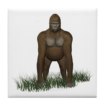 Gorilla Tile Coaster