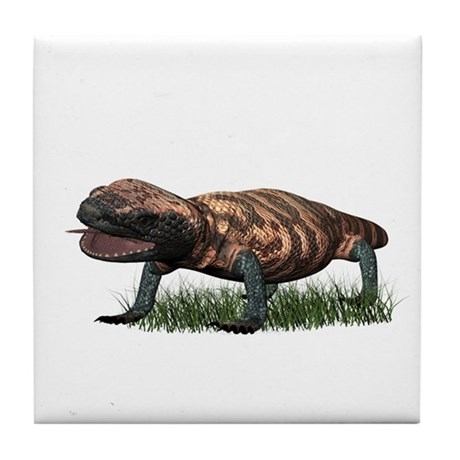 Gila Monster Tile Coaster
