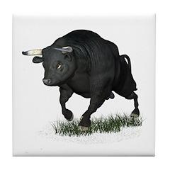 Bull Tile Coaster
