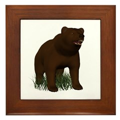 Bear Framed Tile