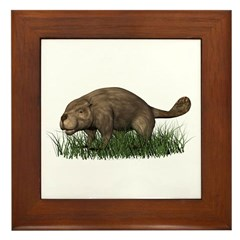 Beaver Framed Tile