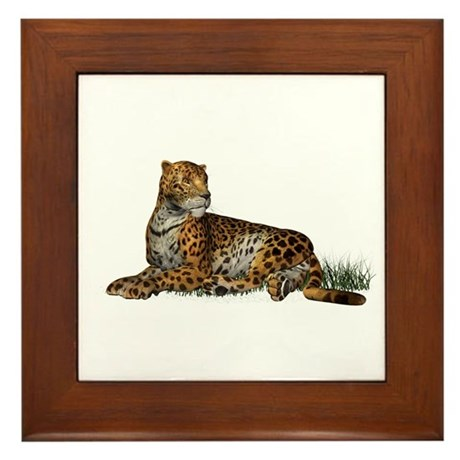 Jaguar Framed Tile